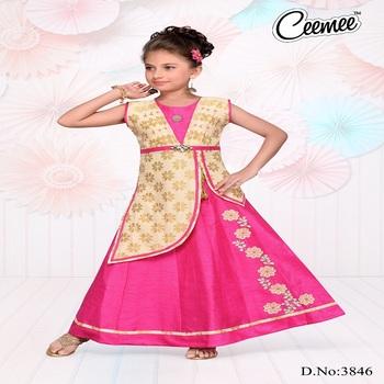 13c2b04f6 New Style Girls Wear Beautiful Looking Ghagara Dress - Buy Different ...