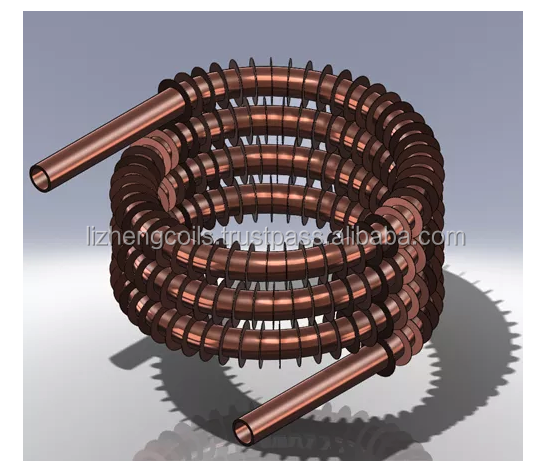 List Manufacturers Of Heat Exchanger Fin Coil Buy Heat
