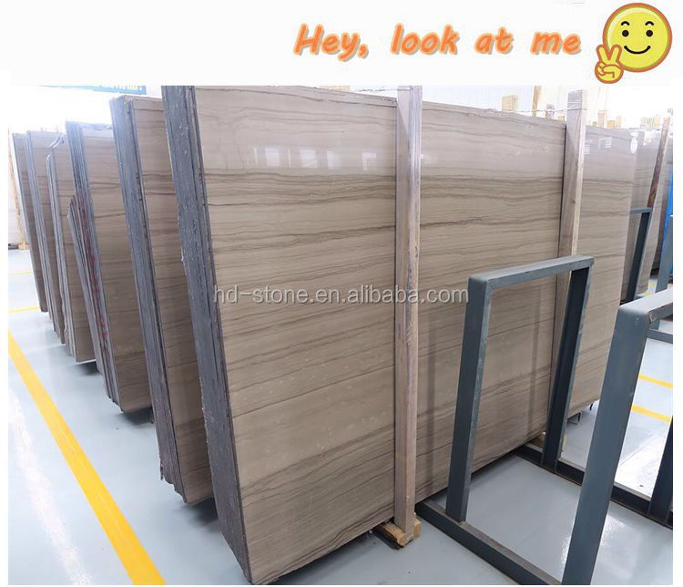China Polished Elegant Wood Marble Slab, Coffee Wood Grey Vein Marble Big Slabs