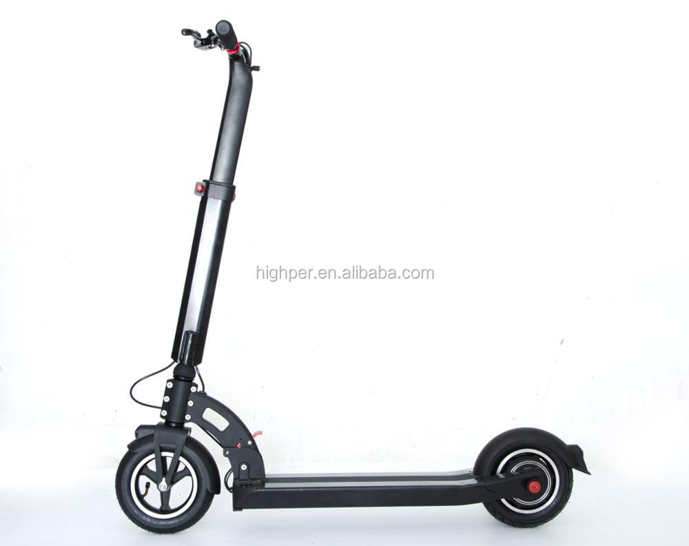 2017 New 350W36V7.8AH/36V10.4AH alloy electric scooter for adults (HP109E-B)