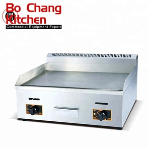 Hot Sale Hotel Commercial gas Griddle/NEW Stainless Steel Flat Plate Gas Grill Griddle
