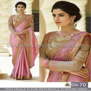Modern Fabulous Looking Indian Women Wear Special Function Wear Bollywood Designer Saree In Wholesale View Indian Wedding Reception Wear Sarees
