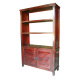 Indonesia bookcase indoor teak furniture - DW-BC007 Wooden Teak Furniture Bookcase Indonesia.