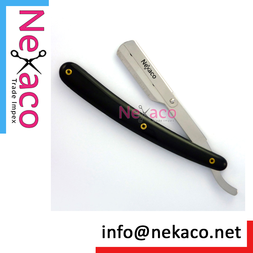 Billig Whole Sale Salon Straight Cut Throat Rasierrasiermesser für Friseur Männer Rasiermesser Rasiermesser