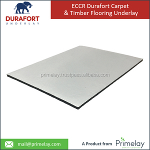High Quality Recycle Crumb Rubber Carpet Underlay for Different Carpet Installation