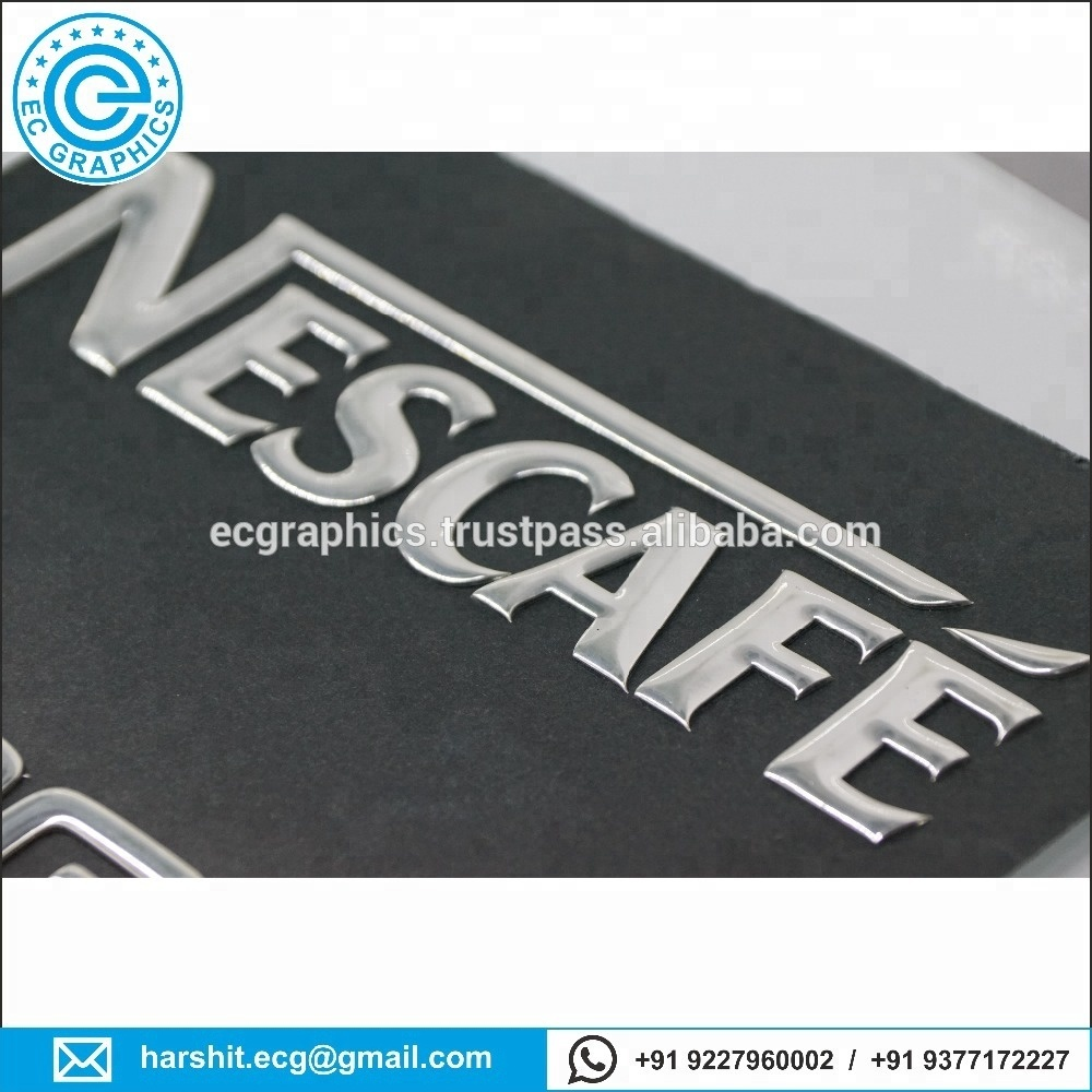 Promotional custom 3d flexible stickers
