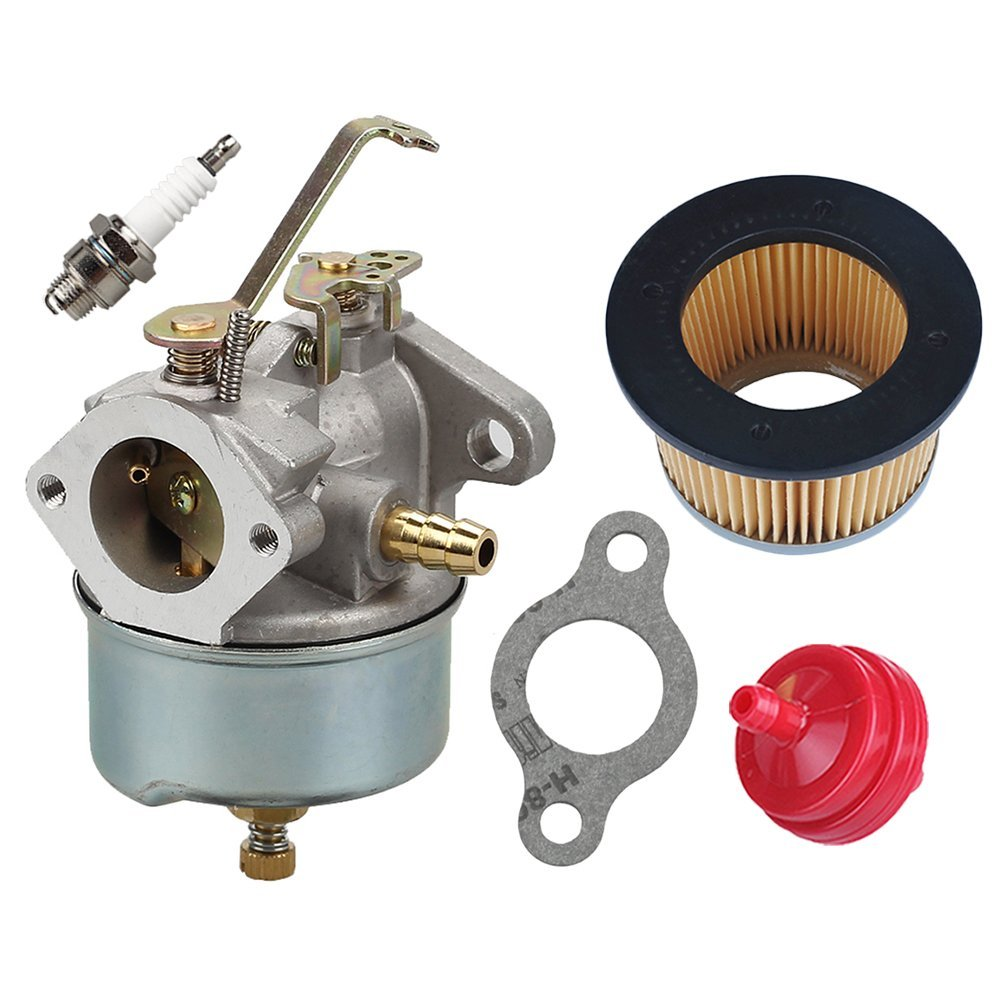 Get Quotations · 632230 632272 Carburetor with 30727 Air Filter for Tecumseh  5 HP 6 HP 631828 631067 631067A