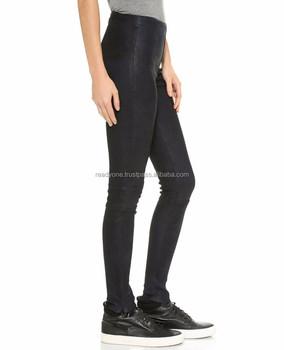 b1da9cfb9a5 Girls Black Faux Leather Gothic Legging Women Plus Size High waist Legging