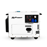 5.5KW low and coolant silent single phase diesel generator prices