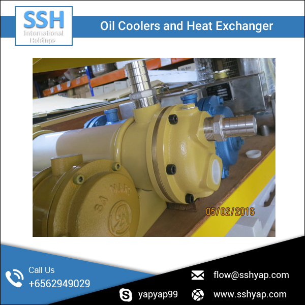Oil Coolers and Heat Exchanger for Marine Use