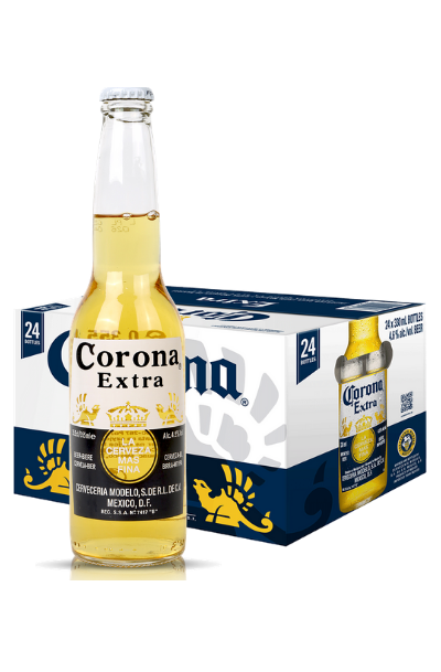 corona extra 24 pack cans