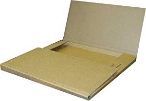 50 Variable Depth Economy Kraft LP Record Mailer Boxes
