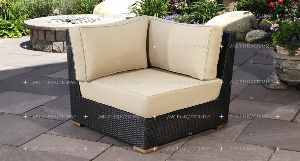 resin wicker synthetic rattan sofa set furniture sectional l shape garden outdoor furniture rattan living
