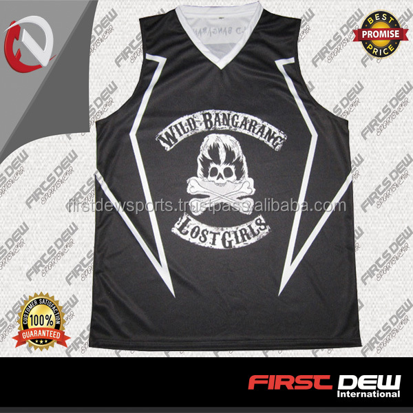 2017 Sublimated Uniform Team Wear Custom Basketball Jersey
