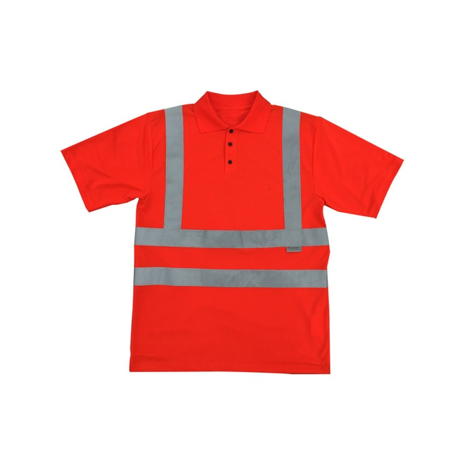 Reflective Tape T Shirt - high visibility wholesale cheap men's work wear safety reflective tape t shirts