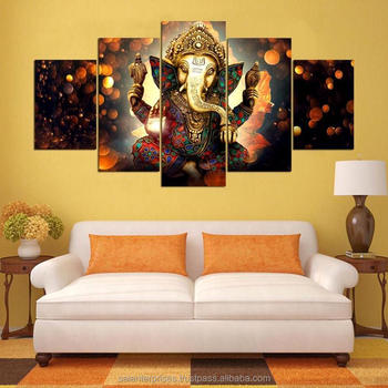 Home Decore Lord Ganesha Wall Painting Sticker Buy Sticker 3d Wall Sticker Wall Sticker Product On Alibaba Com