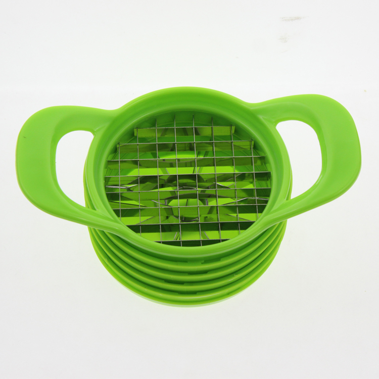 6pcs Plastic Kitchen Vegetable Grater Slicer Chopper Tool Set Kit Include Handle Fruit Cutter Chopping Dicing Mango Blade Base