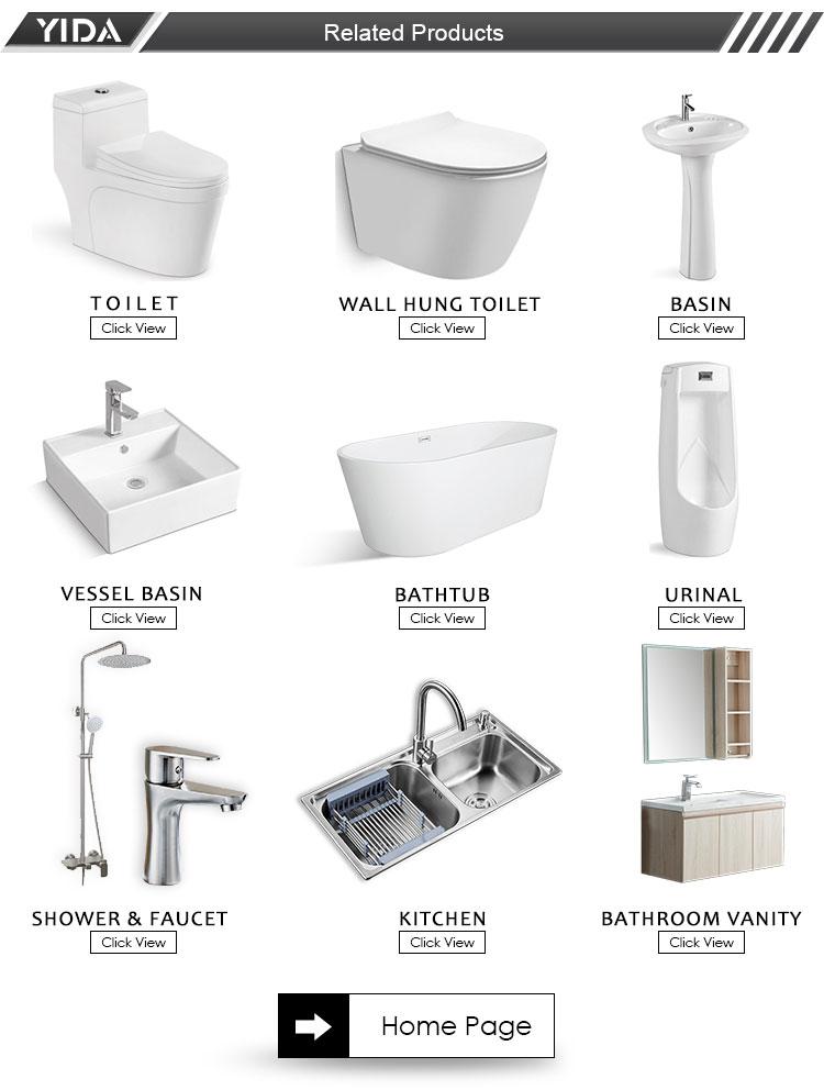 Fornecedor Foshan Veitnam wc cerâmica piso automatic urinal flush montado higiênico cor branca para o sexo masculino