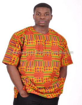 Traditionele Kente Afrikaanse Dashiki Unisex Shirt
