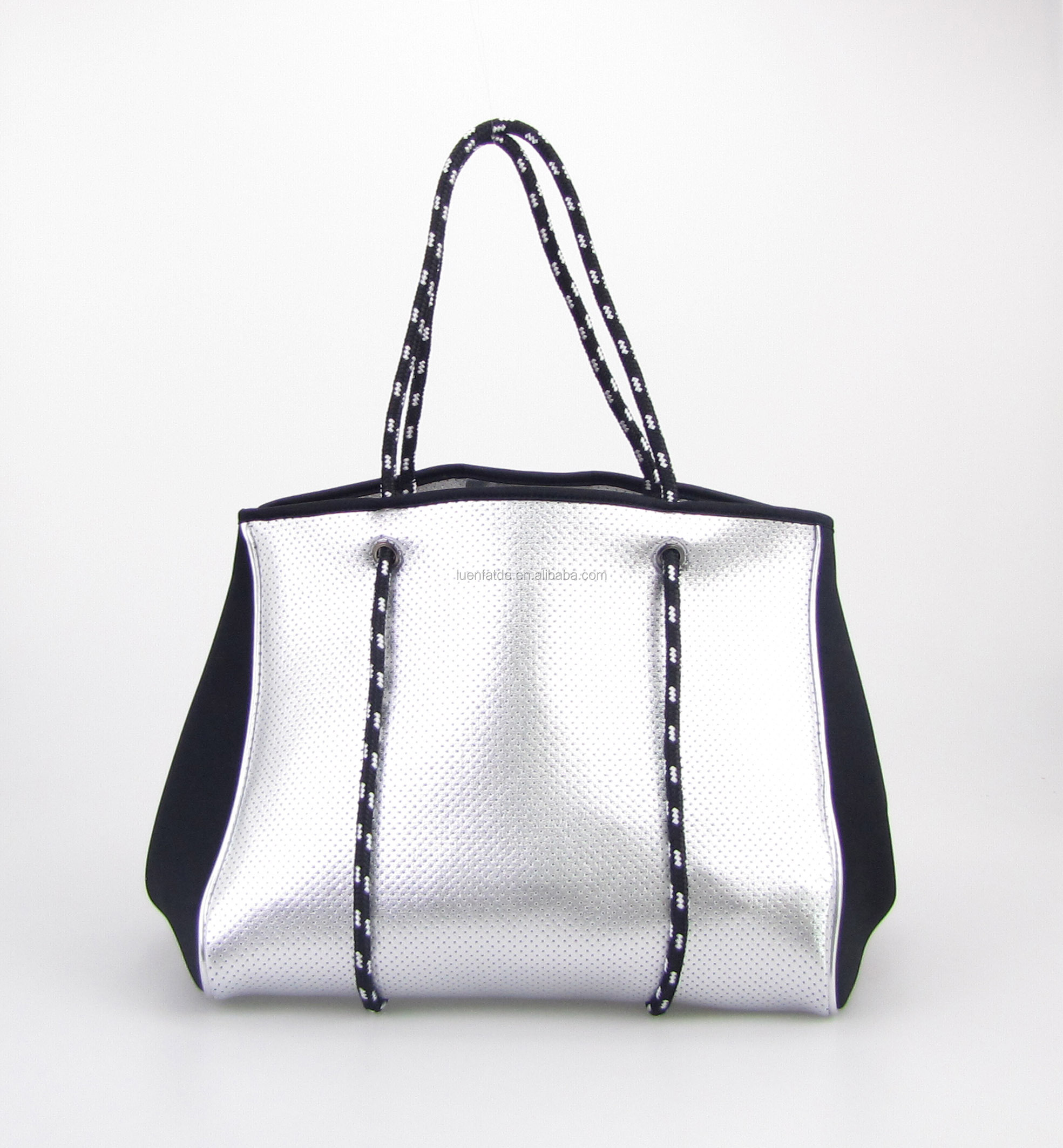 Hot sell Neoprene tote bag shopper for Women