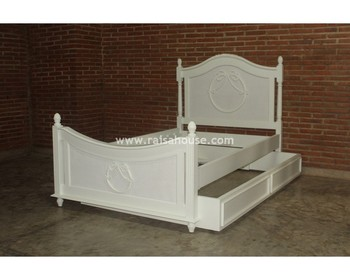 French Furniture Indonesia - Uzma Umar Bed Antique Jepara Furniture