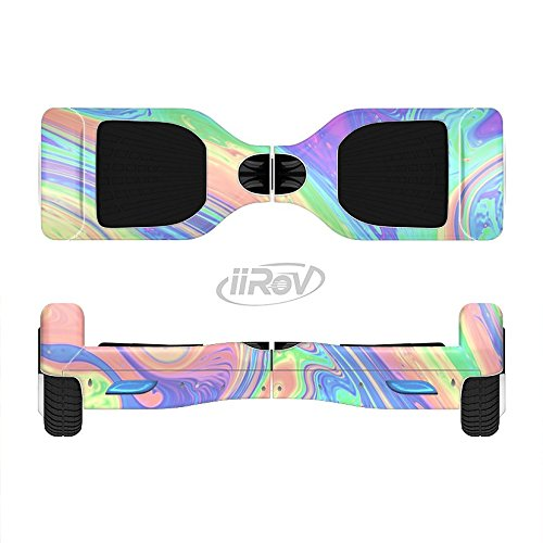 The Neon Color Fusion V13 Full-Body Wrap Skin Kit for the iiRov HoverBoards and other Scooter (HOVERBOARD NOT INCLUDED)