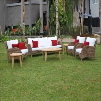 Poly Rattan Sofa Sets Garden Outdoor