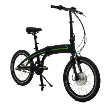 OEM ODM taiwan ebike 250W Electric folding bicycle 48V Lithium hidden battery in top tube