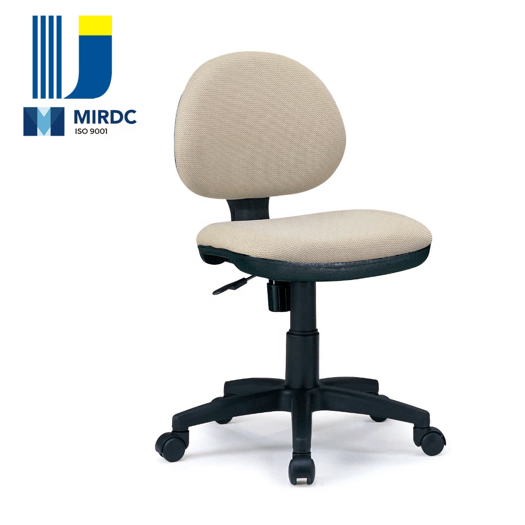 Excellent Office Seating Armless Front Desk Cashier Swivel Chair With Foam And Fabric Vinyl Upholstery 639Bg Buy Armrless Front Desk Chair Fabric Swivel Ncnpc Chair Design For Home Ncnpcorg