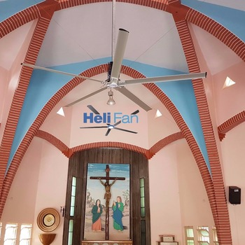 Large Ceiling Fan For Church Temple Industry Warehouse Large Commercial Area Buy Big Hvls Fan For Divine Place Big Industrial Fan Large Industrial