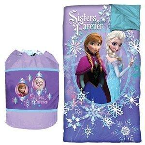 "Disney Frozen ""Sisters Forever"" Slumber Sleeping Bag Duffle Set"