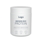 Meal Replacement Muscle Powder Skinny Protein Organic Rice Protein Powder Ready to Be Sold Under Your Brand and Vision