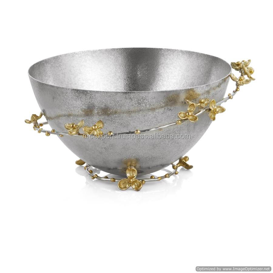 designer metal fancy bowl