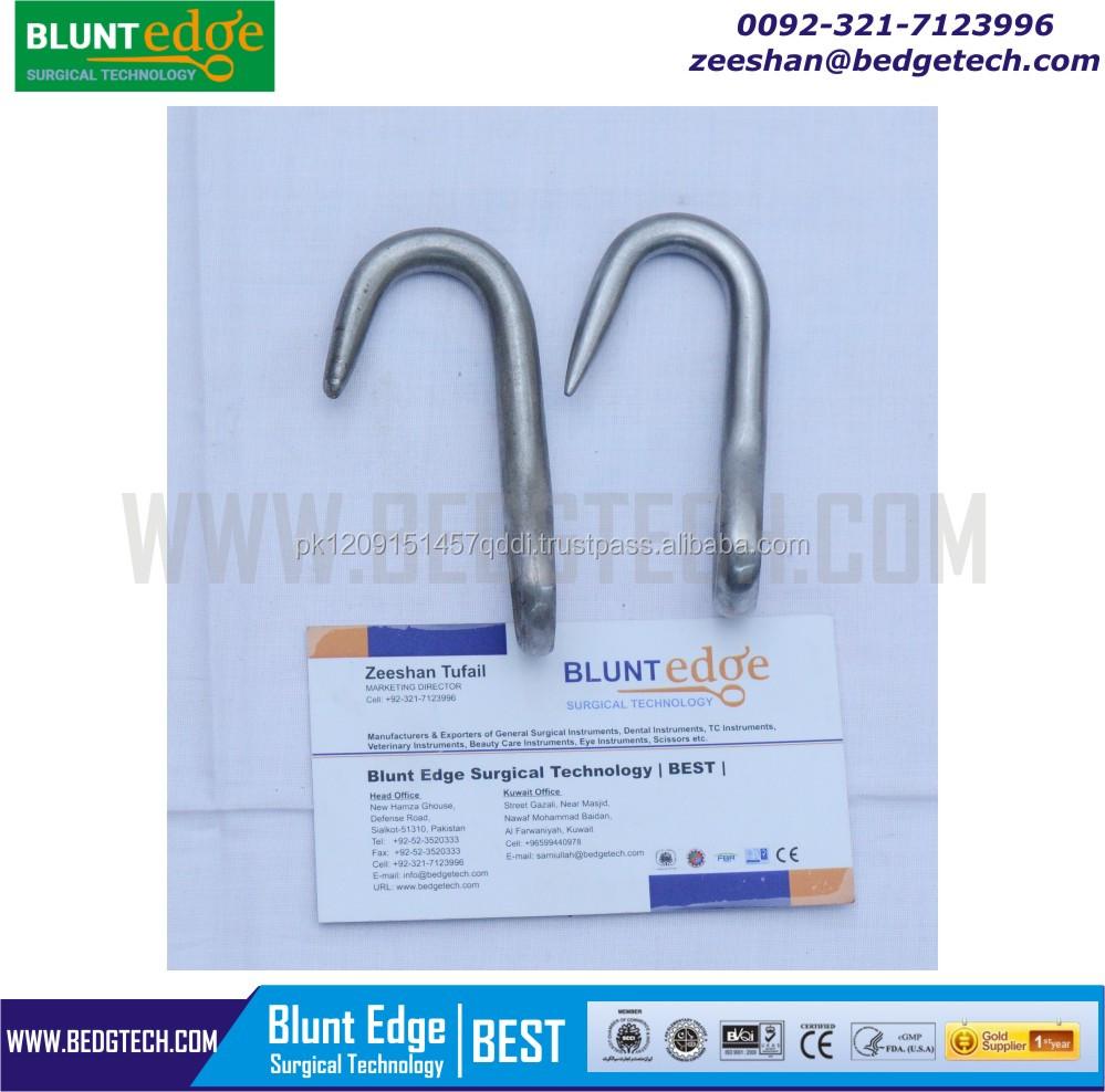 Harms Eye Hook Blunt 8 Cm - Buy Cattle Eye Hook,Small Eye Hook,Veterinary  Instruments Pakistan Product on Alibaba com