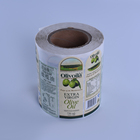 OLANTAI Security Clear Adhesive Custom Label Sticker Roll