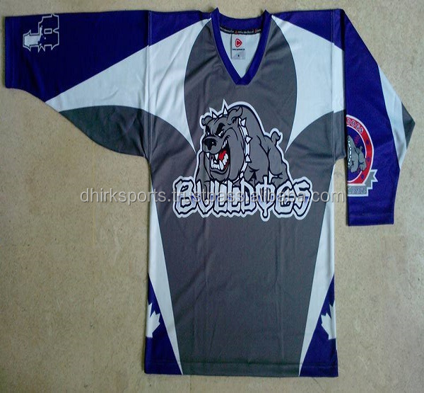 USA Sublimation Bedruckt Ice Hockey Trikots/Eishockey wear/Sublimiert eishockey Trikots