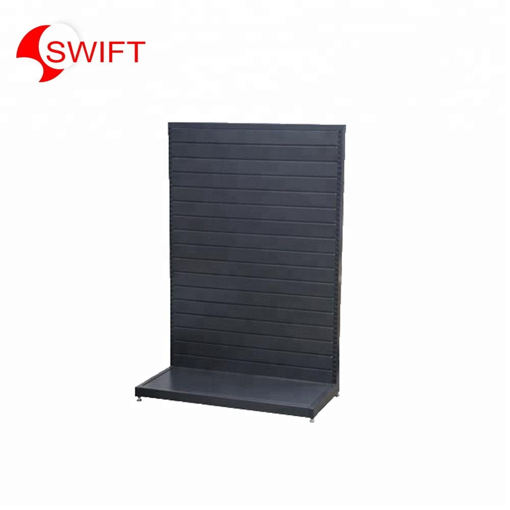 <strong>Retail</strong> store fixtures metal floating props case furniture shoe slatwall hook panels shelf tray floor counters rack display