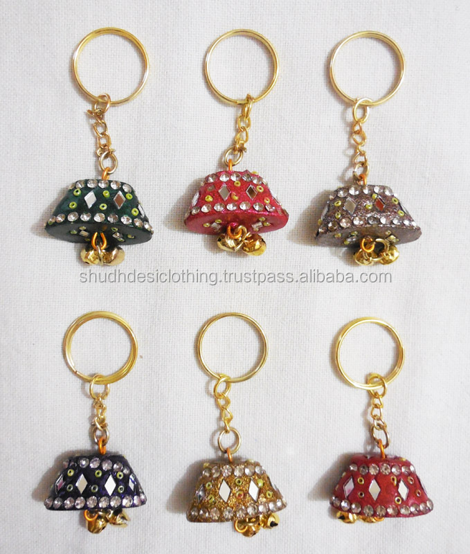Traditional fancy look charming key chain