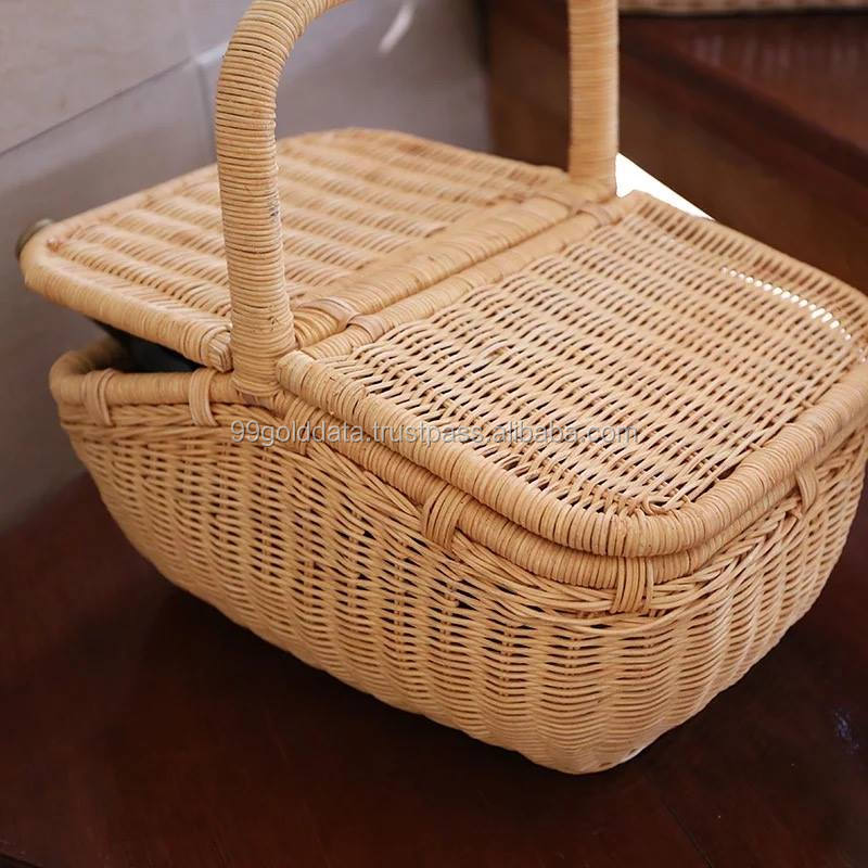 Rattan Bamboo Picnic Basket Big Storage Bamboo Picnic Basket Wicker Picnic Basket 84587176063 Whatsap View Picnic Basket With Wheels Sandy 99gd At Gmail Com Product Details From 99 Gold Data On Alibaba Com