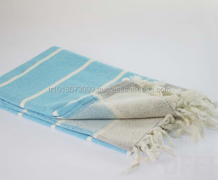 Terry back Peshtemal Turkish Towels, Hammam Towel Turkey Wholesale, Turkish Towel