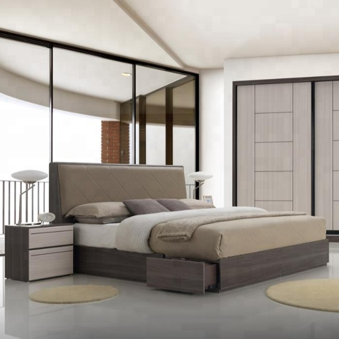 Mdf Master Bedroom Set Furniture - Buy Premium Bedroom Set Home  Furniture,Modern Bedroom Furniture,Wooden Modular Bedroom Set Furniture  Product on ...