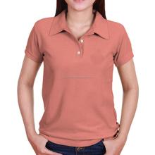 2018 latest plain organic cotton ladies polo t shirts