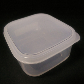 Safe Food Grade Plastic Microwave Container With Lid Containers Disposable Lunch Box