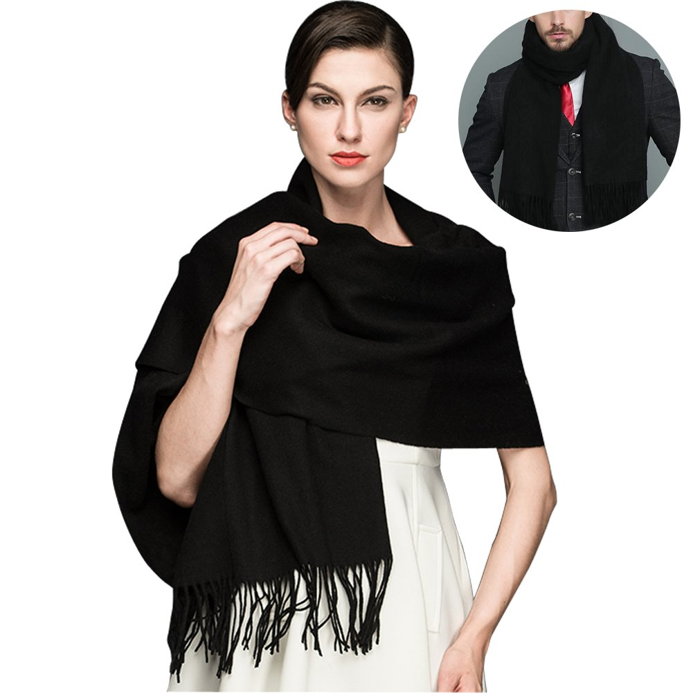 810585745267f Get Quotations · MOCOFO Wool Scarfs,Soft Cashmere Feel Large Shawl for Women  and Men,Blanket Shawls