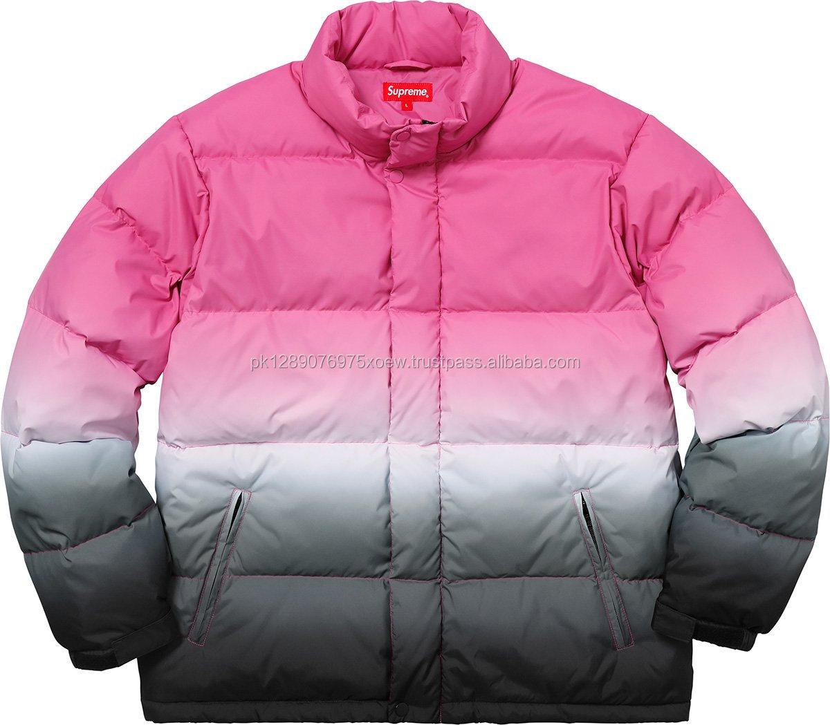Latest Design New look Nylon Puffy Jacket Men, Wholesale Lining Nylon Customized Puffy Jacket