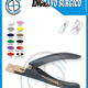 Color Coated Acrylic Nail Tip Cutter