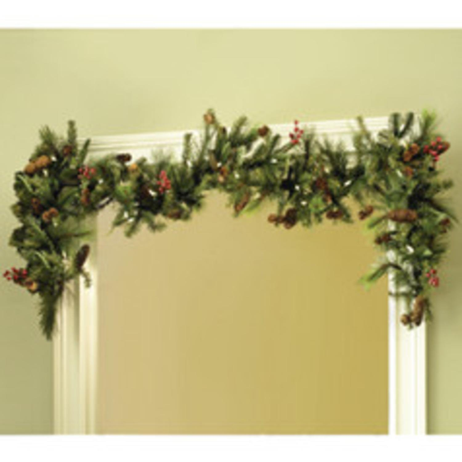 Get Quotations · TreeKeeper Adjustable Christmas Garland Hanger For Single  Door Frames