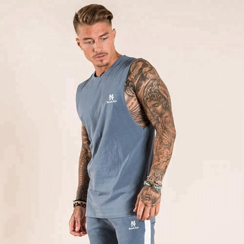 Wholesale Blank Gym Fitness Workout T Shirt Men Dry Fit Custom T