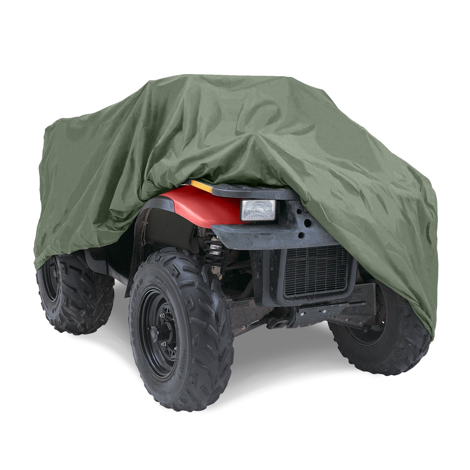 """Budge Sportsman Extra Large ATV Cover Fits ATVs up to 7' 3"""" Long, ATV-3 (Olive, Waterproof)"""