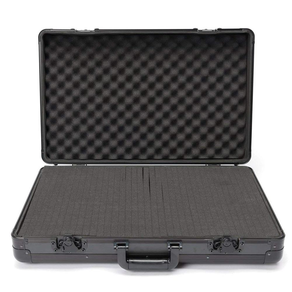 Aluminum Carry Lite DJ <strong>Case</strong> with foam